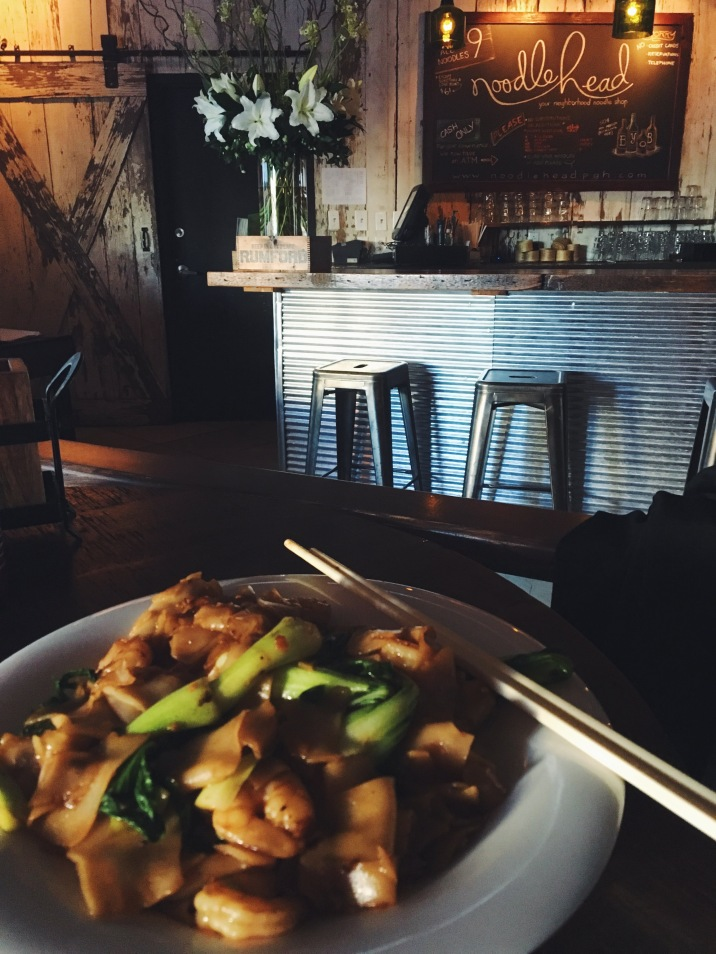 Kee Mao with shrimp